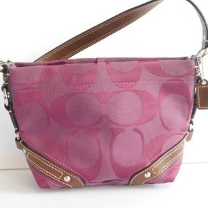 Coach Carly Small Signature bag